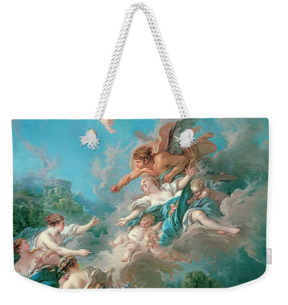 Boreas Abducting Oreithyia Weekender Tote Bag