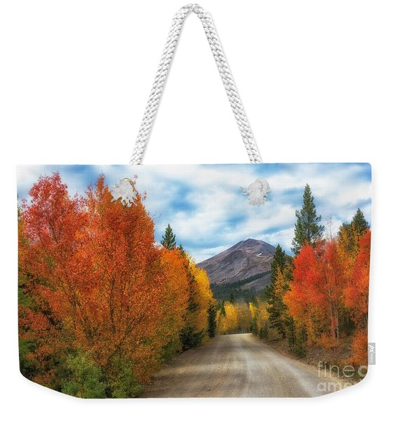 Boreas Mountain Weekender Tote Bag