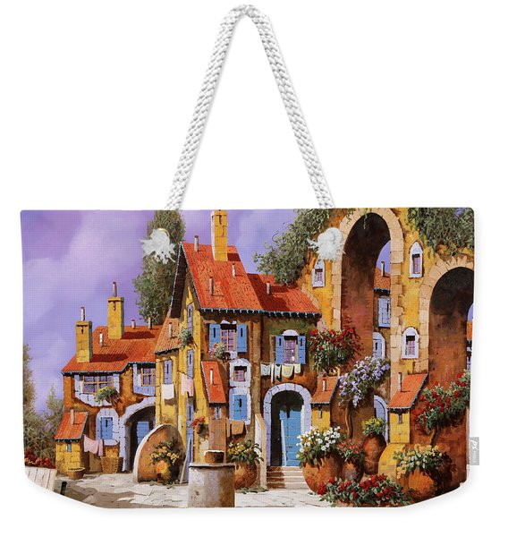 Borgo A Colori Weekender Tote Bag