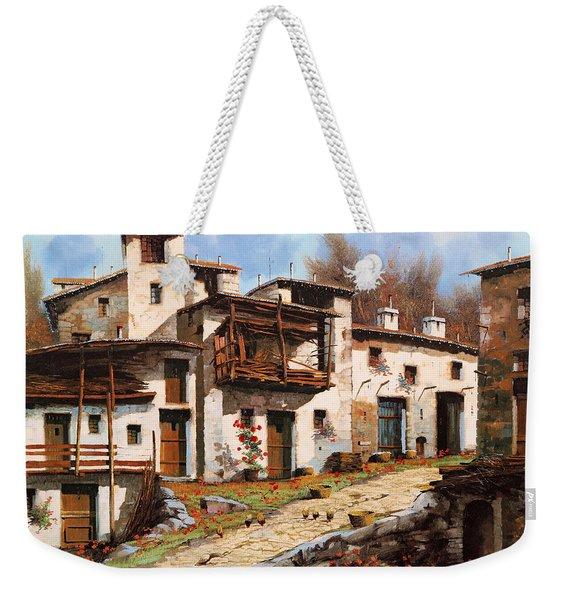 Borgo Di Montagna Weekender Tote Bag