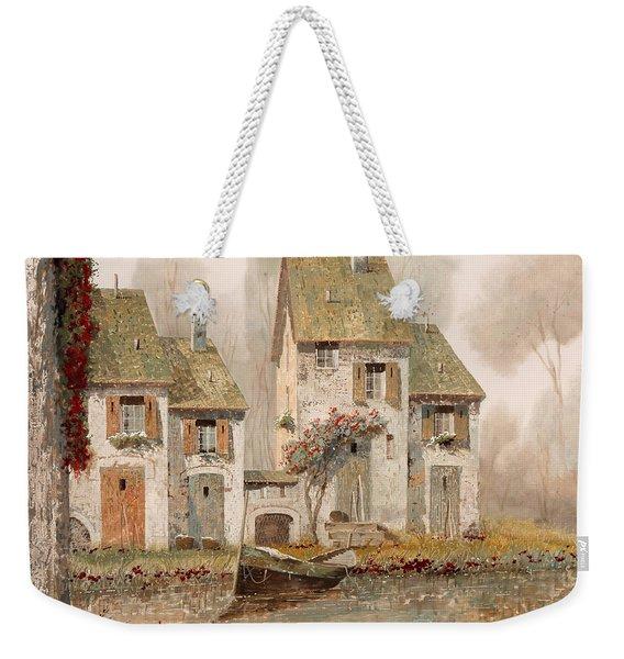 Borgo Nebbioso Weekender Tote Bag