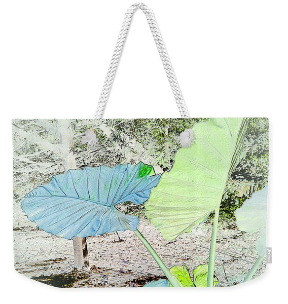 Borneo Giant Abstract Weekender Tote Bag