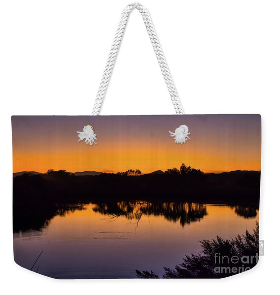 Bosque Del Apache Sunset Weekender Tote Bag
