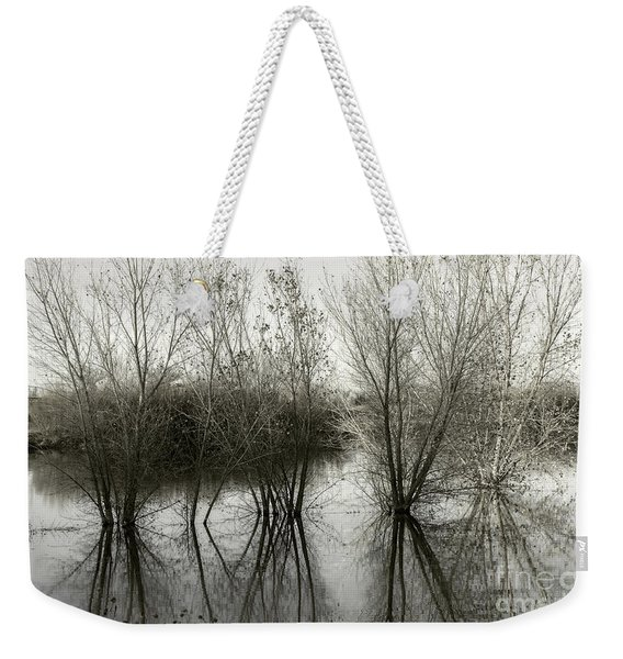 Bosque Reflection Weekender Tote Bag