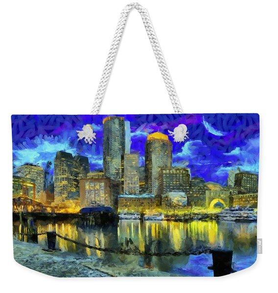 Boston 1 Weekender Tote Bag