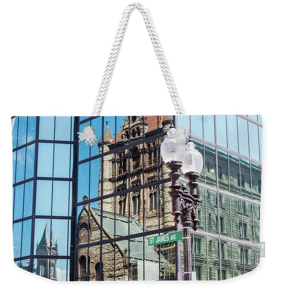 Boston At Different Angle Weekender Tote Bag