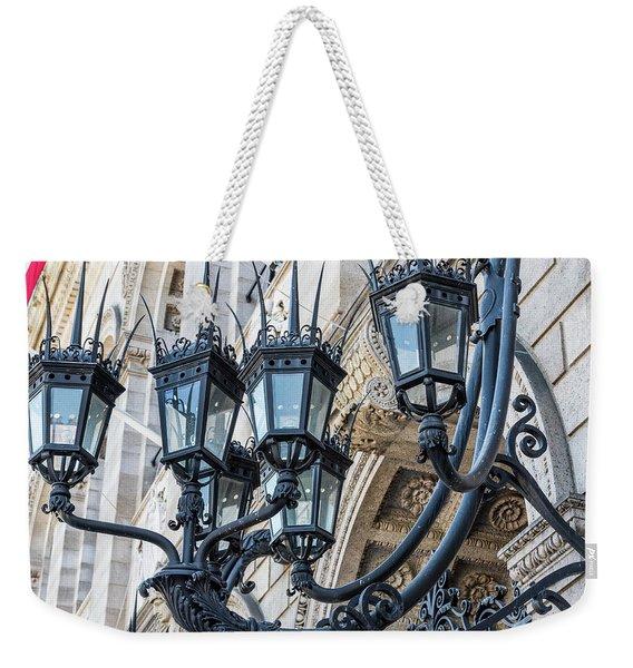 Boston Lamps Weekender Tote Bag