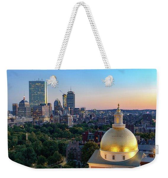Boston State House Weekender Tote Bag