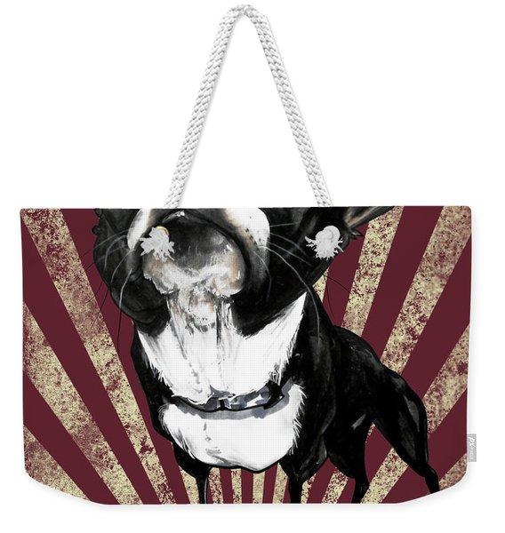 Boston Terrier Revolution Weekender Tote Bag