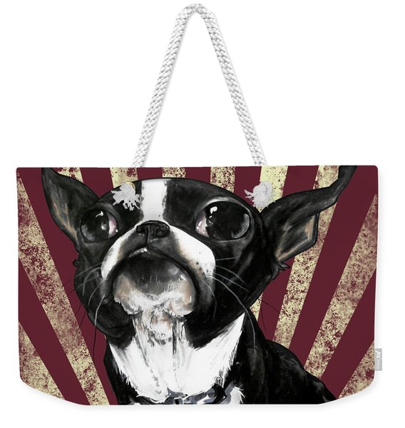 Boston Terrier Revolution Weekender Tote Bag