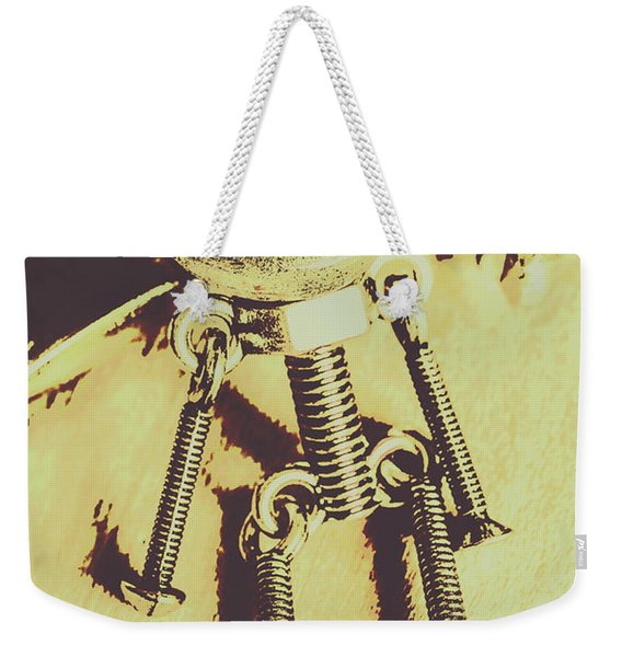 Bot The Builder Weekender Tote Bag