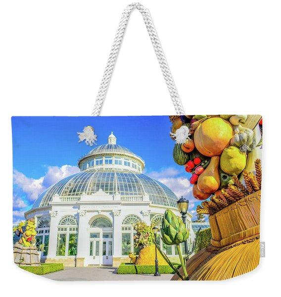 Botanical Beauty Weekender Tote Bag