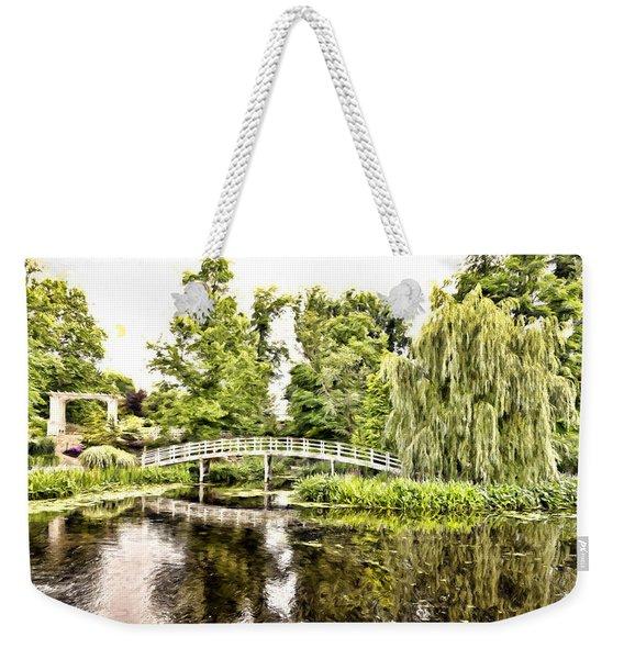 Botanical Bridge - Monet Weekender Tote Bag