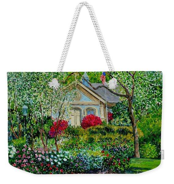 Botanical Garden, Azalea And Peonies Weekender Tote Bag