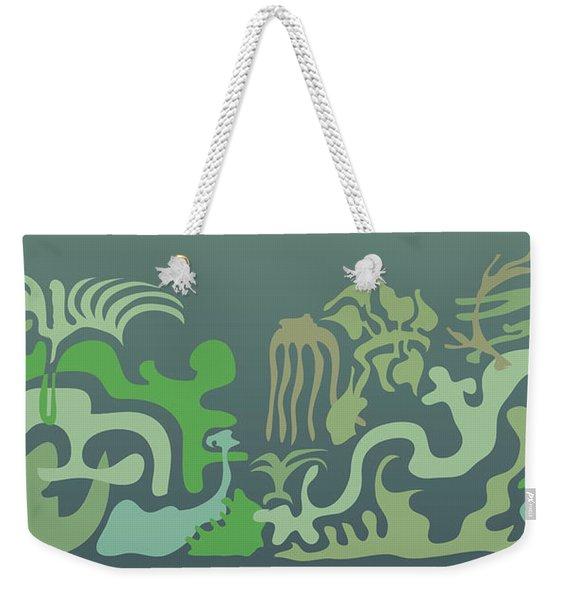 Botaniscribble Weekender Tote Bag