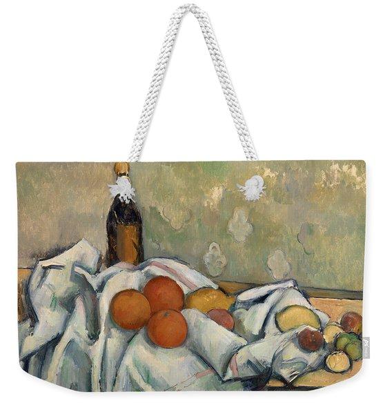 Bottle And Fruits Weekender Tote Bag