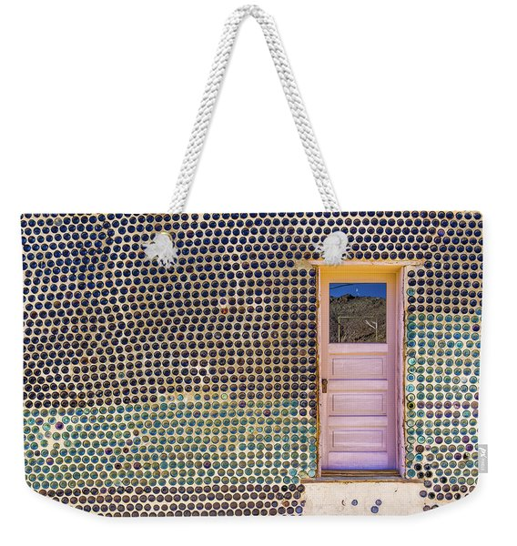 Bottle House Weekender Tote Bag