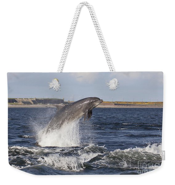 Bottlenose Dolphin - Scotland  #26 Weekender Tote Bag
