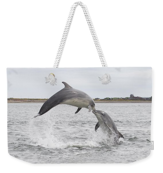 Bottlenose Dolphins - Scotland #1 Weekender Tote Bag