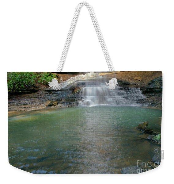 Bottom Of Falls Weekender Tote Bag
