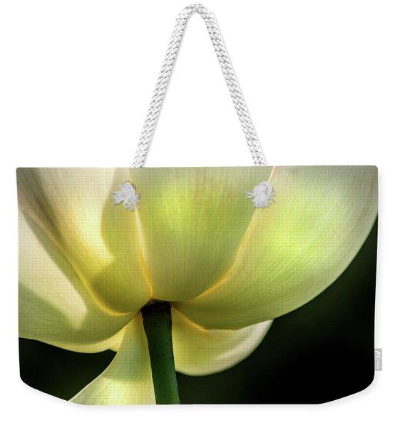 Bottom Of Lotus Weekender Tote Bag
