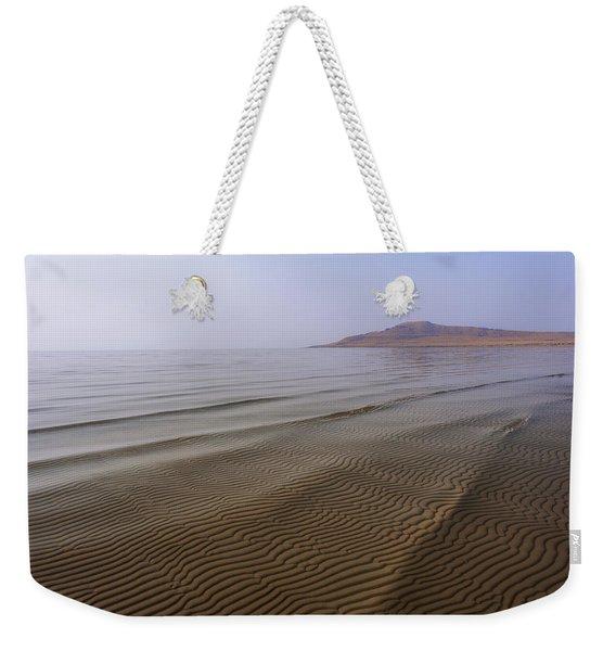 Bottom Ripples Weekender Tote Bag