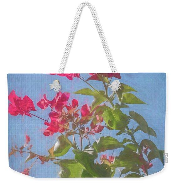 Bougainvillea Morning Weekender Tote Bag