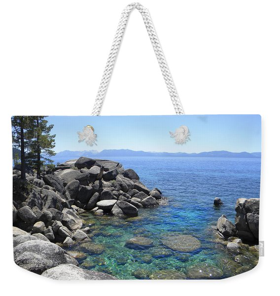 Boulder Cove On Lake Tahoe Weekender Tote Bag