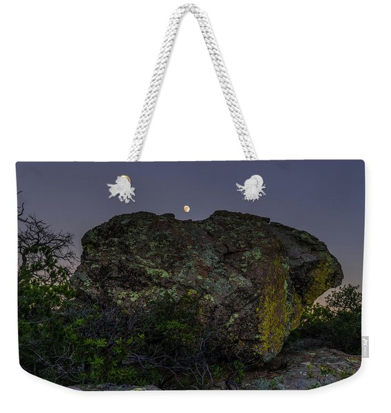Boulder Moonrise Weekender Tote Bag