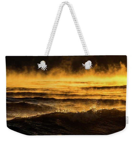 Fire Lake Weekender Tote Bag
