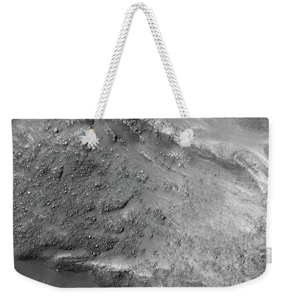 Boulders On A Martian Landslide Weekender Tote Bag