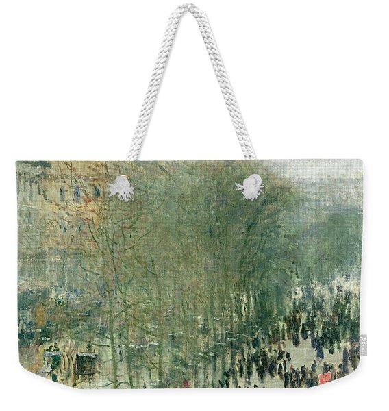 Boulevard Des Capucines Weekender Tote Bag