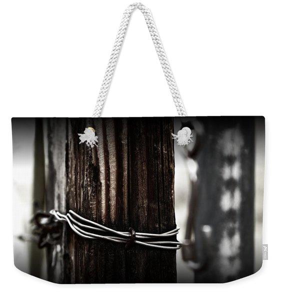 Bound  Weekender Tote Bag