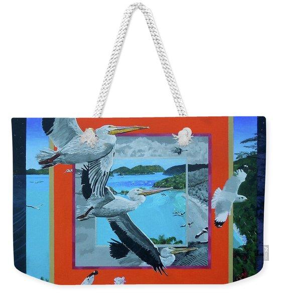 Boundary Series Xvii Weekender Tote Bag