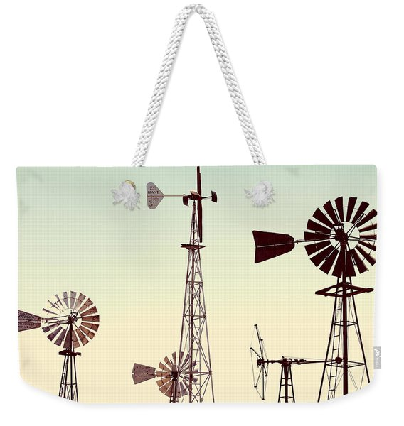 Bountiful Windmills Weekender Tote Bag