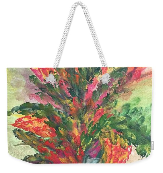 Bouquet And Ribbon Weekender Tote Bag