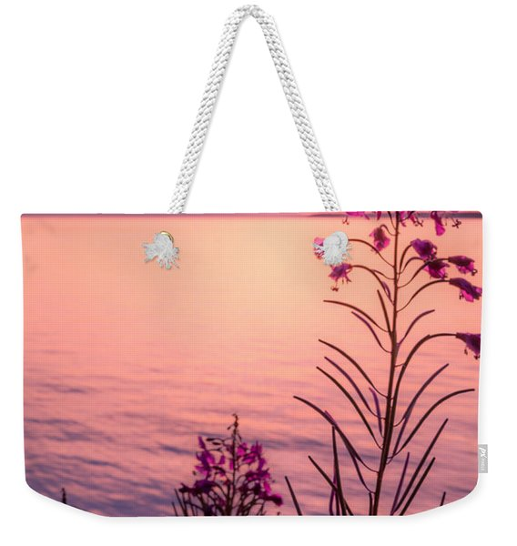 Weekender Tote Bag featuring the photograph Bouquet For A Sleeping Lady by Tim Newton