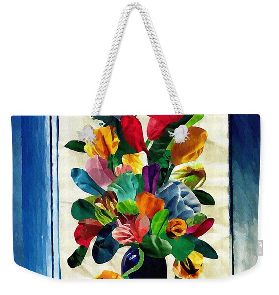Bouquet In A Country Window Weekender Tote Bag