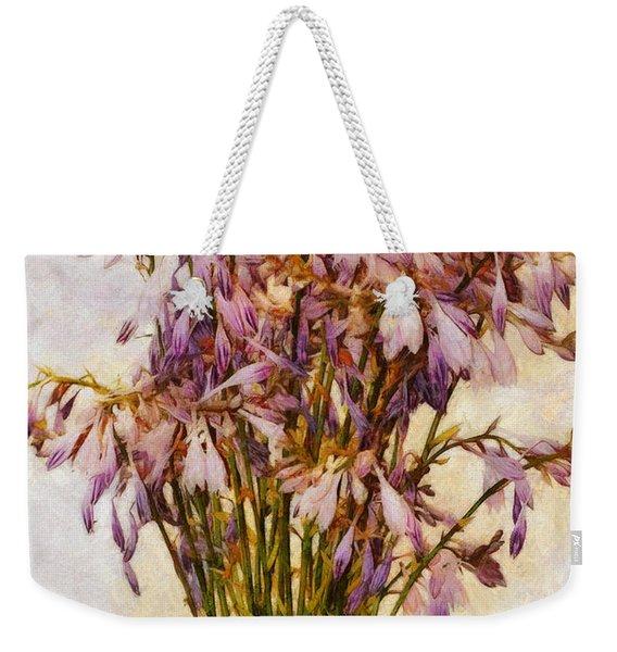 Bouquet Of Hostas Weekender Tote Bag