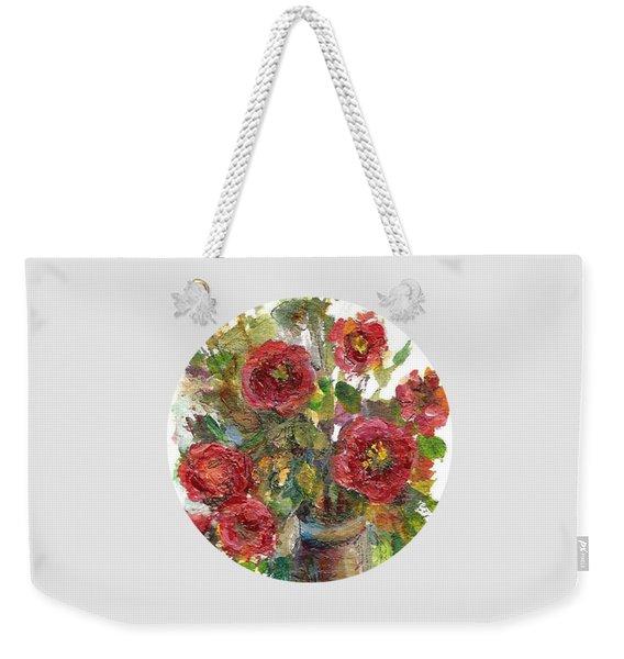 Bouquet Of Poppies Weekender Tote Bag