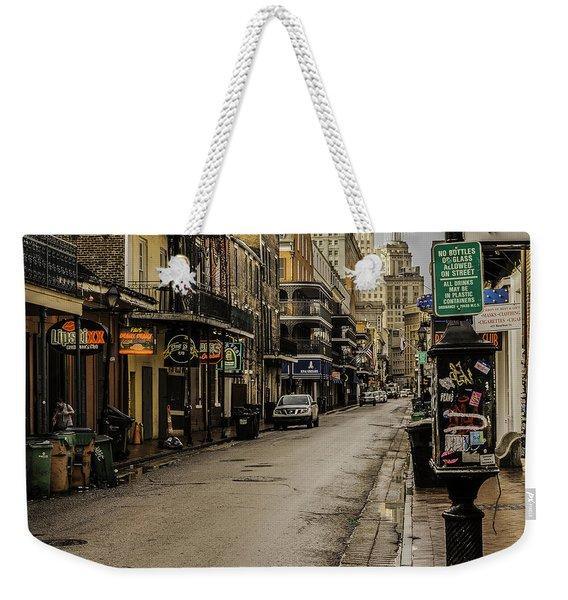 Bourbon Street By Day Weekender Tote Bag