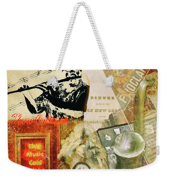 Bourbon Street Collage Weekender Tote Bag