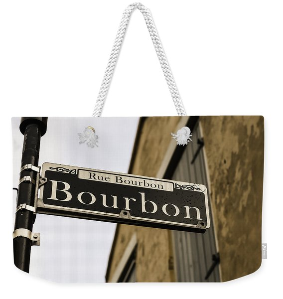 Bourbon Street, New Orleans, Louisiana Weekender Tote Bag