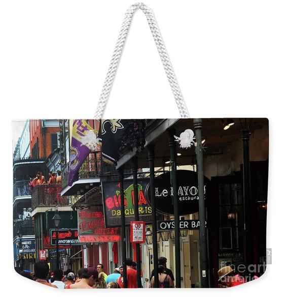 Bourbon Street Weekender Tote Bag