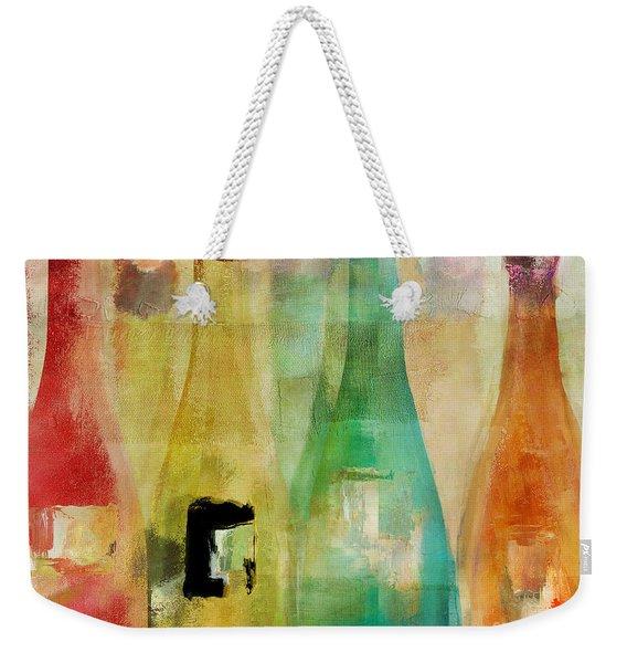 Bouteilles Weekender Tote Bag