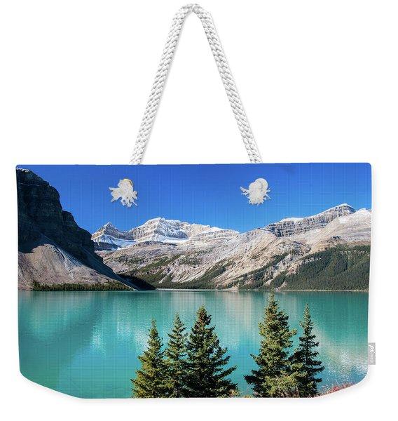 Bow Lake Weekender Tote Bag
