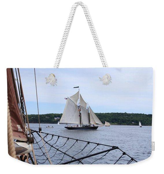 Bowditch Under Full Sail Weekender Tote Bag