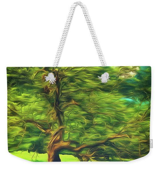 Bowing To The Moon Weekender Tote Bag