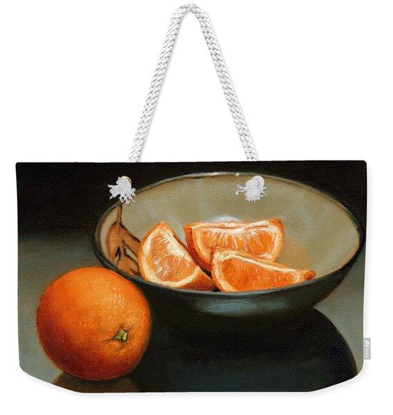 Bowl Of Oranges Weekender Tote Bag