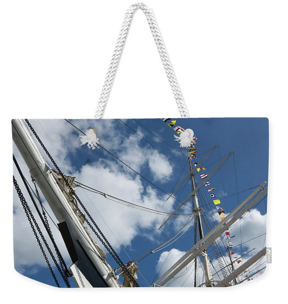 Bowsprit And Flags Weekender Tote Bag